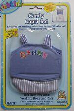 u CANDY CAPRI SET top pants fits most WEBKINZ pets cat dog new CODE clothing