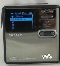 SONY mzrh10 hi-md WALKMAN MUSICA DIGITALE PLAYER / RECORDER (mz-rh10)