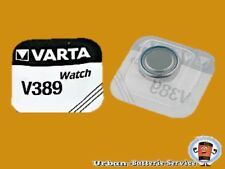 50UDS. Varta V389 SR1130W SR54 AG10 PLATA 1.55V Pilas de botón Relojes Baterías
