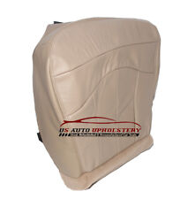 2001 2002 Ford F150 4X4 2WD Lariat Quad Cab Driver Bottom Leather Seat Cover TAN