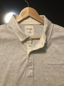 Billy Reid Mens Shirt - Short Sleeves - Chest Pocket - Made Peru - XL - EUC