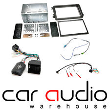 "Skoda Fabia Mk2 Alpine 6.1"" Sat Nav Bluetooth kit de montaje de doble DIN coche estéreo"