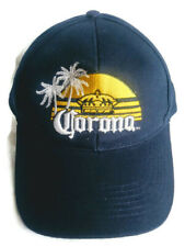 Corona Extra Beer Brewery Baseball Cap Hat Adjustable Strap Back One Size Blue