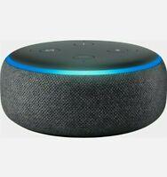 Amazon Echo Dot 3rd Gen w/ Alexa Voice Media Device - Charcoal Gray *BRAND NEW*