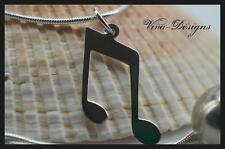 925 Sterling Silver Music Lovers Music Note Charm