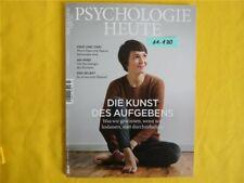 Psychologie heute Januar 2018 ungelesen 1a Abs. Top