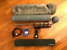 Sennheiser MKH 815T Microphone + Updated Rycote Kit + Coherence PS3 Power Supply