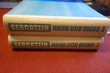 EP340: Bernatzik Akha und Meau Völkerkunde Hinterindien 2 Bände 1947