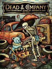 Dead & Company Poster Little Caesars Arena Detroit, Mi 11/24/17