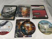 Gran Turismo 5 Prologue, Stormrise, Call Of Juarez Bound In Blood PS3 Game Lot
