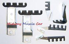 new spark plug wire retainer bracket kit 68 69 pontiac gto lemans judge g/p