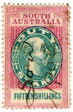 (I.B) Australia - South Australia Revenue : Stamp Duty 15/-