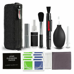 10 in 1 Professional Lens Cleaning Cleaner Set for Canon Nikon Sony DSLR Cameras