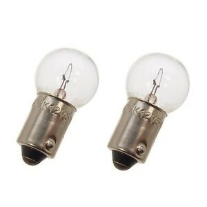 For MG MGB Set of 2 Light Bulbs OEM Lucas LLB 989