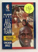 1991  FLEER  MICHAEL JORDAN  #211              #136