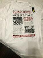 John Varvatos Star USA Mens National Review Punk Rock Graphic T-Shirt XXL $98