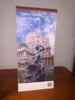 LONDON TRANSPORT BUSES CENTRAL BUS GUIDE MAP WESTMINSTER CITY WEST END 1998