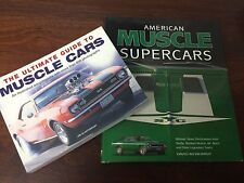 THE ULTIMATE GUIDE MUSCLE SUPER CARS American NEW Jim Glastonbury David Newhardt