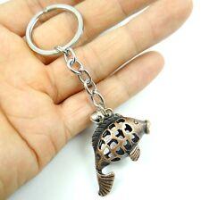 Creative Key Chain Ring Keyring Metal Keychain Gift Tool fish Pendant K7