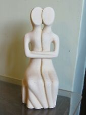 Stone lovers figurine 7 inches high