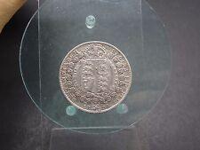 Half Crown 1890 geputzt Großbritannien (617)