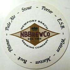 BEER COASTER ~ NEWPORT BEACH Brewing Co Bisbee/'s ESB ~ CA ** Open From 1995-2018