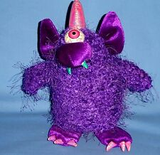 Vintage Purple People Eater Animated Music Monster;Dan Dee;Halloween Decoration