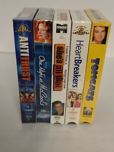 NEW Factory Sealed Lot of 5 VHS Movies - NEW Old Stock Hard To Find OOP