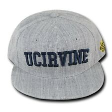 Gray University California Uci Irvine Anteaters Ncaa Snapback Baseball Hat Cap