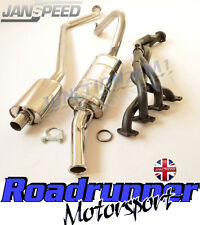 Janspeed Stainless Exhaust System & Mild Steel Manifold Ford Escort MK2 RS 2000