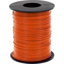 100 Meter filo trefoli Arancione 0,14mm ² Filo di controllo Rame liy CAVO BOBINA