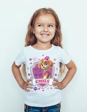 Paw patrol Birthday T-shirt Featuring Skye Kids/Toddler/children/baby
