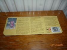 Tortue ninja turtle tmnt carte mutagen man card back vintage teenage mutant