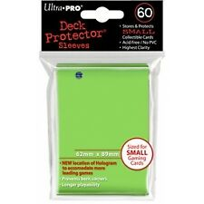 Ultra Pro Small Lime Green Deck Protector 60ct - Brand