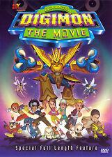 DIGIMON: THE MOVIE (DVD, 2001) - NEW RARE DVD