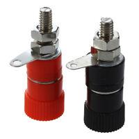 1X(10 Pcs 3.8mm Thread 4mm Banana Plug Socket Binding Post Replacement W7O4)