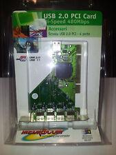 Mediacom USB 2.0 1.0 PCI Card