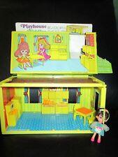 Vintage Liddle Kiddles Cookin Hiddle Cooking Playhouse Kitchen Set w Little Doll
