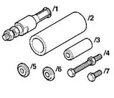 Audi A4 A6 A8 6 Cylinder Diesel Oil Cooler & Servo Pump Bushing OEM Tool T40104
