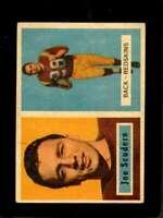 1957 TOPPS #98 JOE SCUDERO VG+ REDSKINS DP  *X3334