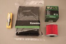 Kawasaki KLF220 Bayou Tune Up Kit NGK Spark Plug Oil & Air Filter KLF 220 88/98