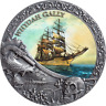Whydah Gally Grand Shipwrecks in a History Antique finish Silver Coin Niue 2019