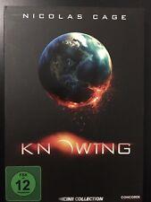 Knowing - Die Zukunft endet jetzt (2009) Nicolas Cage Endzeit Film Propper TOP!
