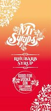 Mr Syrups - Rhubarb Flavoured Syrups For Gin - 750ML