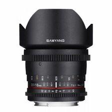 Brand New Samyang 10mm/T3.1 VDSLR II for Canon