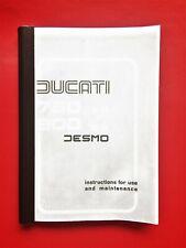 DUCATI BEVEL 750SS/900SS OWNERS MANUAL FEB 1977  P/COPY /USE /MAINTENANCE
