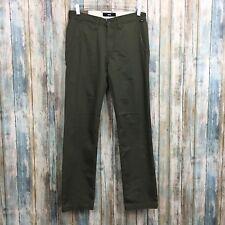 b398e363cd2 Vans Authentic Chino Stretch Modern Fit Men s 28 X 30 Green Cotton Blend  Pants