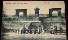 Año 1910. Tarjeta Postal. CALAHORRA. Logroño. Fuente de los trece caños.
