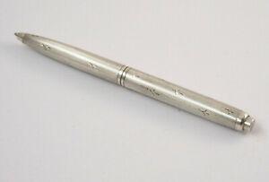 Age Small Handtaschen-Kugelschreiber, 935er Sterling Silver, 30er J. (K69)