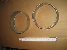 Edelstahl Ring für 130 Rohr Wandanschluß ? Kaminanschluß ? Schornstein 298